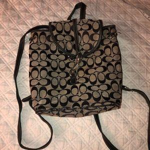 Mini Coach Messenger Book bag